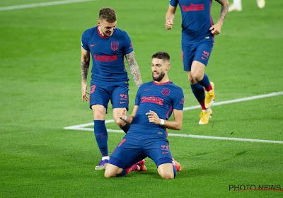 📷 Yannick Carrasco joueur le plus décisif du mois d'avril en Liga