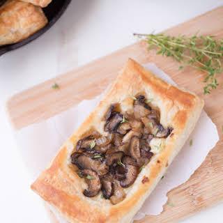 Mushroom Brie Pastries.