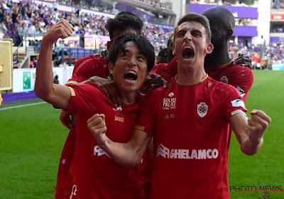 Kijo Miyoshi a signé ses débuts avec l'Antwerp contre Anderlecht