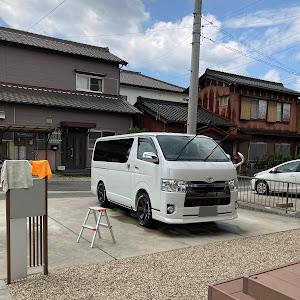 ハイエースバン GDH206V H30 2.8D 4WD スーパーGL50thのカスタム事例画像 健志さんの2020年08月17日04:49の投稿