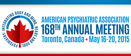 Photo: MDMA-assisted psychotherapy for PTSD researcher Michael Mithoefer, M.D., and MDMA-assisted therapy for social anxiety in autistic adults researcher Charles Grob, M.D., will present at the +American Psychiatric Association Annual Meeting in Toronto, taking place from May 16-20, 2015.http://bit.ly/1zOQrcx  #Psychedelic   #MDMA   #Psychotherapy   #Autism   #Toronto