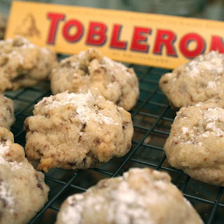 Toblerone Shortbread Cookies.