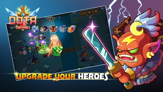 Heroes DotA Defense v2.0 (Free Shopping/Ads-Free)