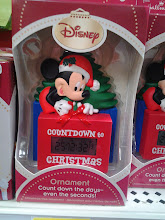 Photo: SO cool - I loved that this ornament counted the days til Christmas!