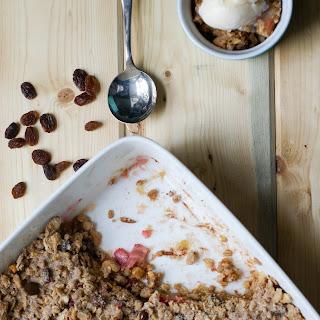 Apple Rhubarb Crisp Recipe