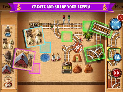 Rail Maze 2 : Train puzzler  gameplay | by HackJr.Pw 8