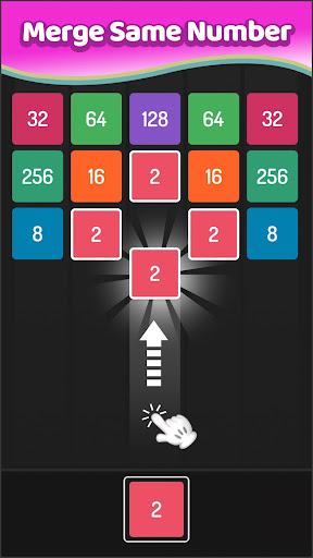 X2 Blocks - Merge Puzzle 2048 APK MOD screenshots 2