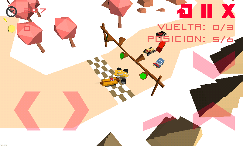 Crazy Mini Racer- screenshot