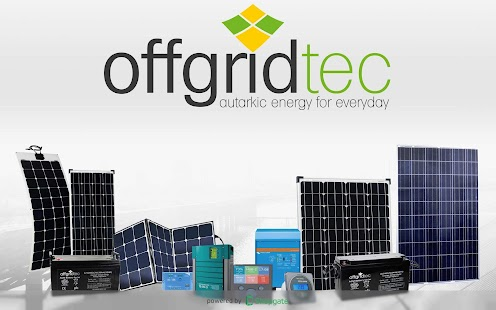 Offgridtec Onlineshop- screenshot thumbnail