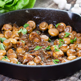 Sauteed Mushrooms Wine Soy Sauce Recipes