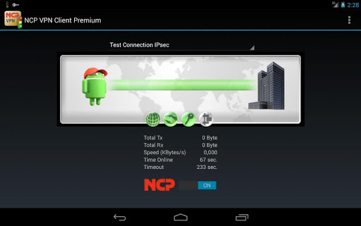 NCP VPN Client Premium  screenshots 3