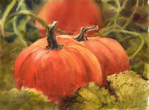 Combine pumpkin, broth, garlic and spices in a small stock pot. Heat over medium...