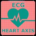 Electrocardiogram (ECG) Rhythm App: Heart Axis icon