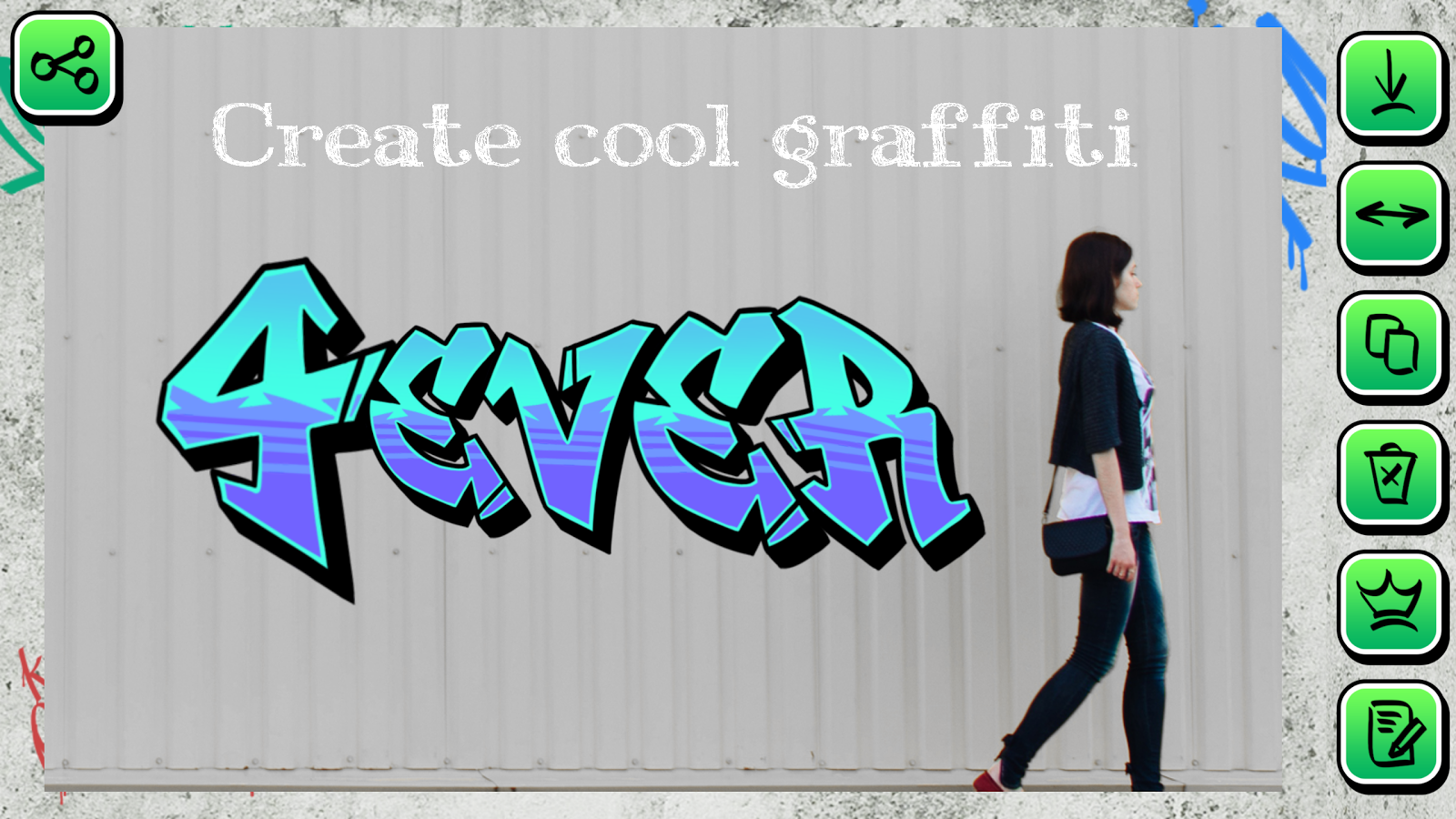 Graffiti creator phone - Graffiti Creator On Photo Text Screenshot