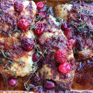 Cranberry Glazed Turkey Breasts.