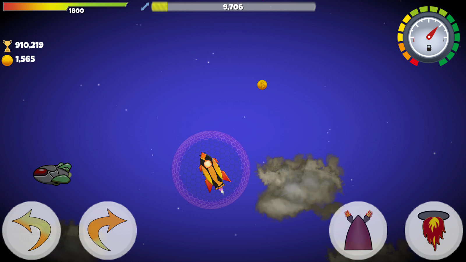 Into Space - Rocket Racing- screenshot