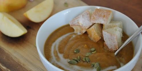 Roasted Pumpkin & Apple Soup
