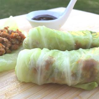 Jul 6 Hoisin Pork Cabbage Rolls