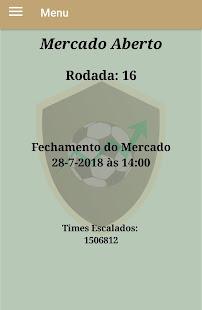 Parciais Cartola FC - náhled