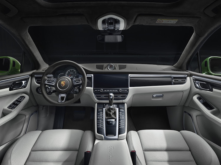 Key differentiators in the cabin include a smaller diameter steering wheel, nicked from a 911, Alcantara roof lining and electrically adjustable front seats.