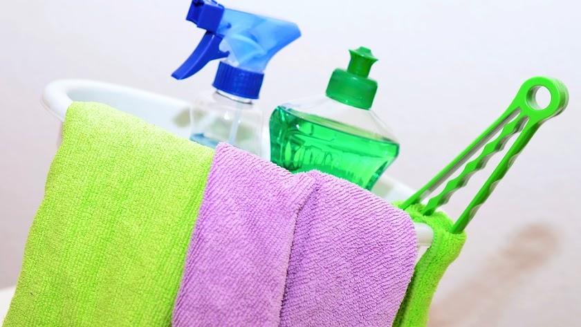 Productos para limpieza doméstica.
