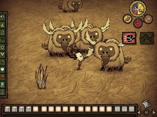 Screenshot 3 Don't Starve: Pocket Edition 1.07 APK+DATA MOD
