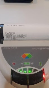 Thermal Bluetoth Printer Helpr- screenshot thumbnail
