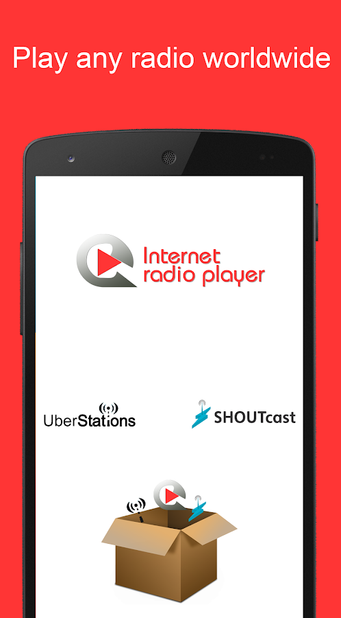 Internet Radio Player - Shoutcast- screenshot