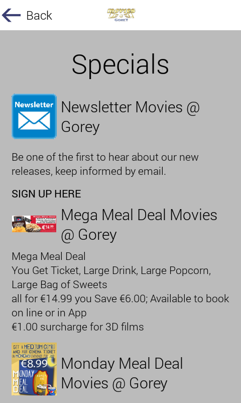 Movies-At Gorey- screenshot