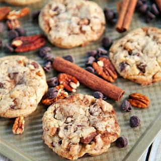 Cinnamon Swirl Chocolate Chip Cookies