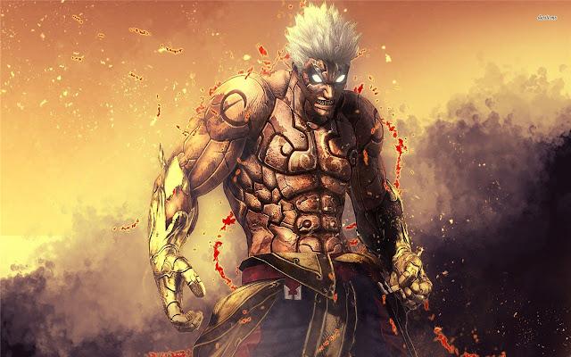Asura's Wrath Themes & New Tab