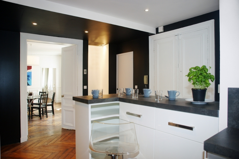 opera serviced apartment kitchen