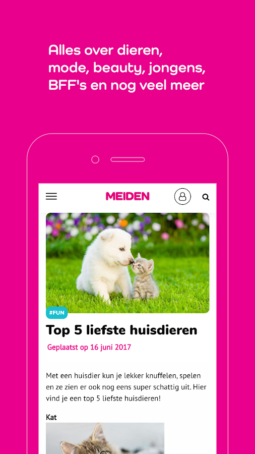 MEIDEN magazine- screenshot
