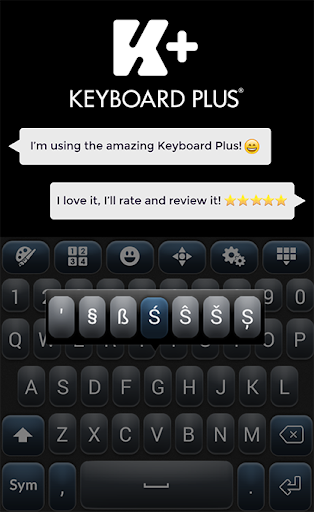 Keyboard for M9