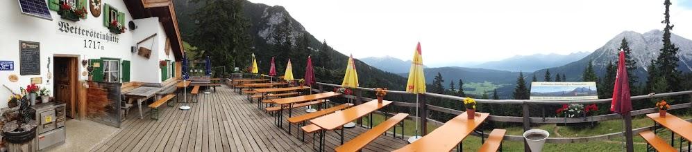 Photo: Panorama down to Leutasch