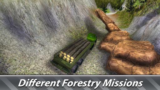 Logging Harvester Truck 1.4 screenshots 12