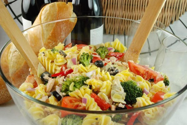 Antipasto Tuna Salad Recipe