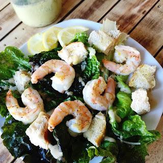 Campeche Shrimp Caesar Salad