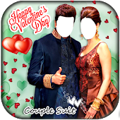 Valentines Day Couple Suit