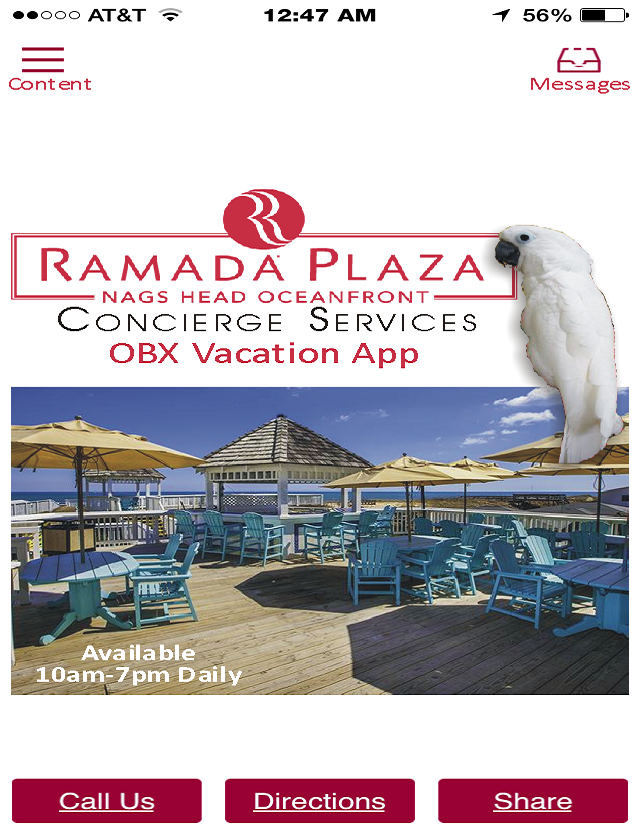 Outer Banks Ramada Concierge- screenshot