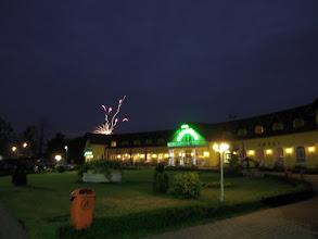 Photo: Tüzijáték, vacsora után