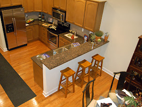 Photo: The kitchen in our MORGAN townhome model at Greyledge Estates in Albany, New York
