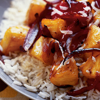 Hawaiian-Style Sweet-and-Sour Roasted Pineapple and Bell Peppers Recipe