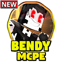 Mod Bendy and The Ink Machine for Minecraft PE icon