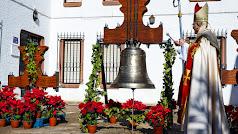 La campana más grande de la parroquia toma el nombre de la patrona.