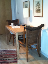"Photo: Dining ""room"" table in Director's flat"