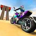 Beach Motorbike Stunts Master 2019 icon