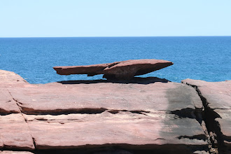 Photo: Mushroom Rock, Kalbarri NP