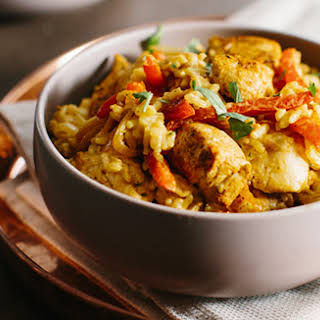 Coconut-Curry Chicken.