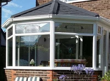 Solid Conservatory Roof with Composit Windows